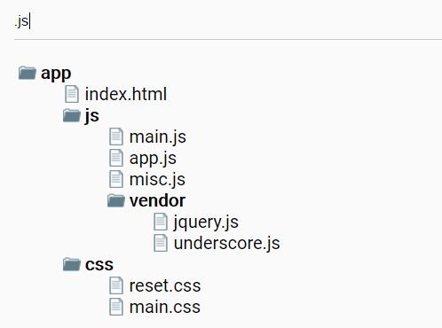 Filterable Folder Tree In Pure JavaScript | CSS Script