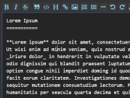 Markdown Text Editor Plugin