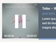 Cool Audio Player In Pure JavaScript