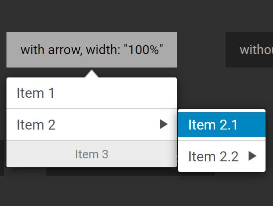 Configurable Multi-level Dropdown Menu Library – Contextmenu