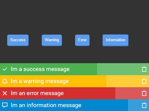 Cross-browser Notification Bar Library – jackbox.js