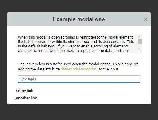 Tiny HTML5 Modal Popup In Vanilla JavaScript – Modal.js