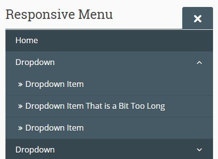 Responsive Dropdown Menu In Vanilla JavaScript | CSS Script