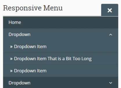 Responsive Dropdown Menu In Vanilla JavaScript