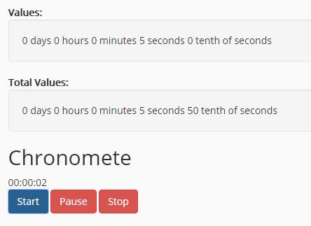 Easy Timer/Countdown/Chronometer Library – easytimer.js