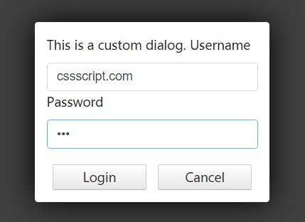 Create Custom Modal Dialogs In Vanilla JavaScript – MarcDialogs.js
