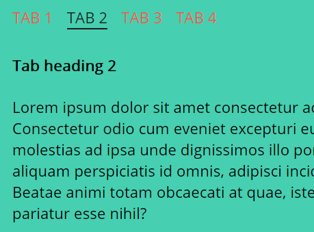 Cross-fading Tabs Interface In Pure CSS/CSS3