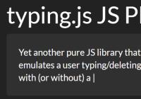 typing.js