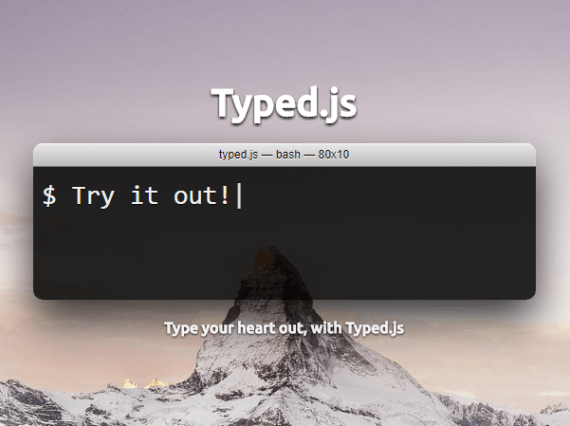 jQuery Plugin To Simulate Human Typing - typetype