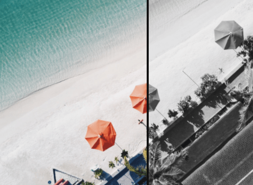 Minimal Image Comparison Slider In Pure JS