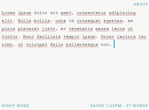 Minimal Text Editor With JavaScript – composure