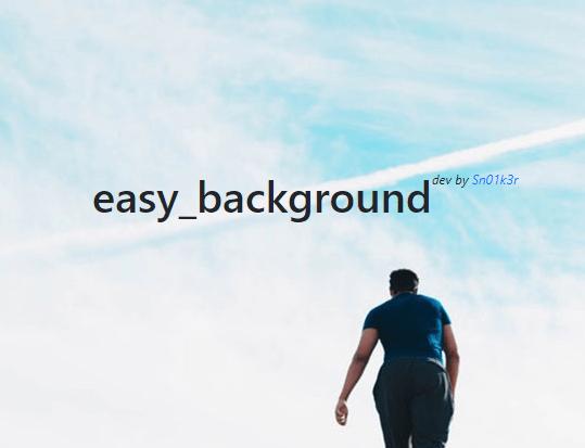 Basic Background Slideshow In JavaScript - easy_background