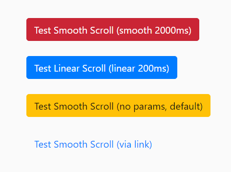 Tiny Smooth Scroll Library – smoothScroll.js