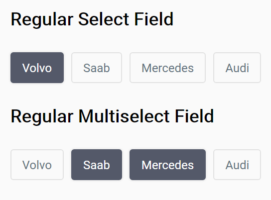User-friendly Option Selector In Pure JavaScript – Tag Selector