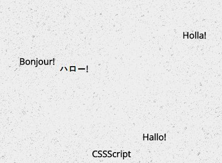 Animated Random Word Cloud Generator In JavaScript – wlcm