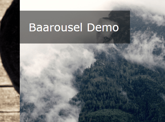 Responsive Fullscreen Carousel With CSS3 And Vanilla JavaScript – Baarousel