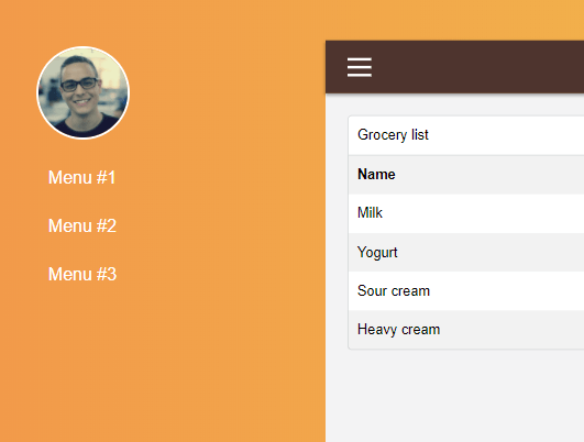 Collapsible Sidebar Menu With Pure JavaScript