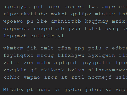 Lightweight Text Scrambling JavaScript Plugin – scramble.js