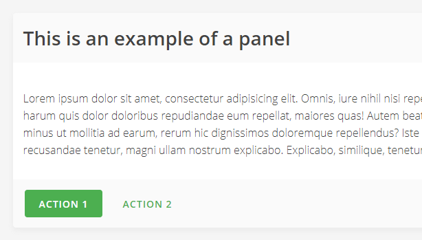 Mustard UI Panels