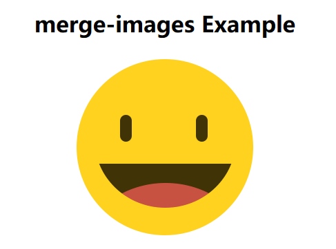 Merge Multiple Images To One Image - merge-images js | CSS
