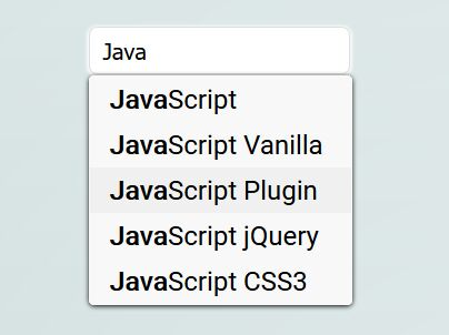 Fast Autocomplete Dropdown For Input Field – autocomplete.js