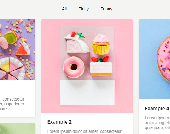 Filterable Masonry Grid In JavaScript – sortableJs