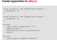 Custom Typewriter Effect In Nativie JavaScript - T-Writer.js