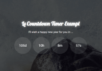 Modern Countdown Timer In Vanilla JavaScript - Ls Countdown
