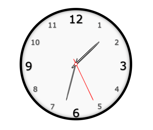 Analog Clock With JavaScript And SCSS
