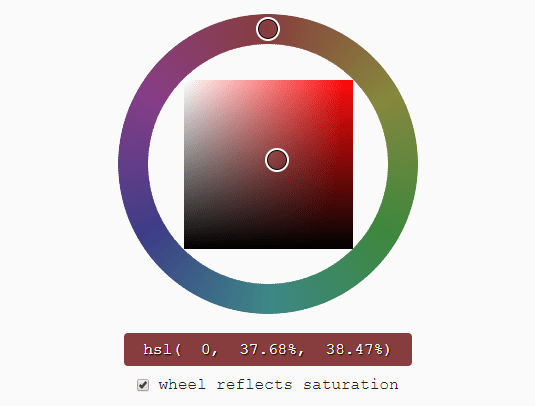 Mobile-friendly HSV/HSL Color Picker – Reinvented Color Wheel
