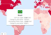 Interactive SVG World Map Library - svgMap.js