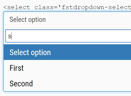 Bootstrap Select Autocomplete