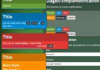 Customizable Growl Notifications With Progress Bars - SimpleNotification