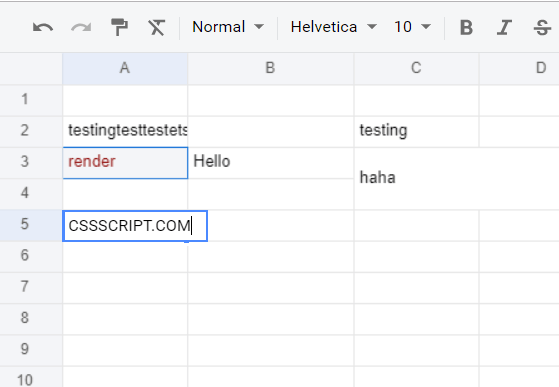 Spreadsheet Web App In Pure JavaScript – x-spreadsheet
