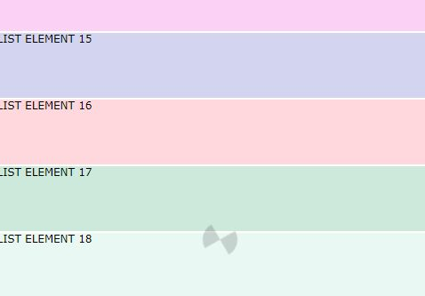 Dynamic Infinite List In Vanilla JavaScript – Infilist