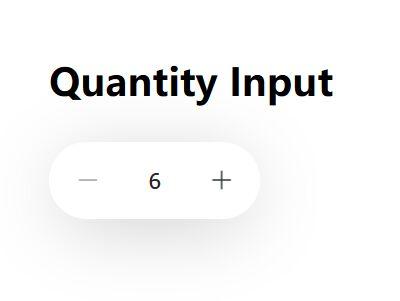 Beautiful Number Spinner In Pure JavaScript – Quantity Input