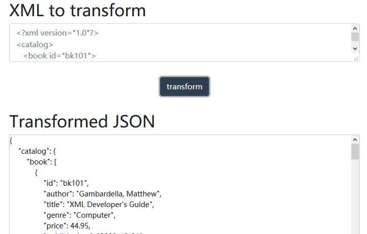 Convert XML To JSON With Pure JavaScript – xmlToJson