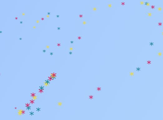 90's Cursor Move Effects In Pure JavaScript