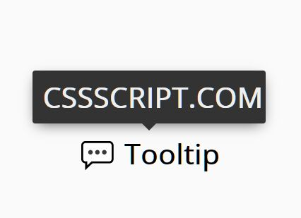 Lightweight And Simple Tooltips In Pure CSS – css-tooltip