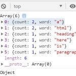 Word Density Counter In Vanilla JavaScript – density.js