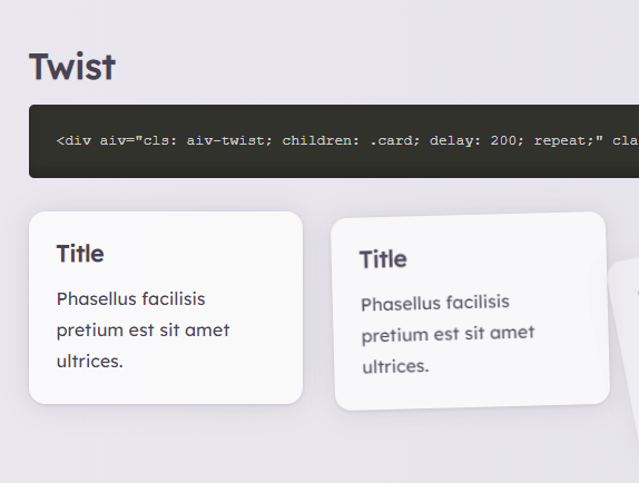 Animate Elements On Scroll By Toggling CSS Classes – AIV