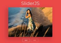 Lightweight Image Slider With Slide Fade Transitions - SliderJS