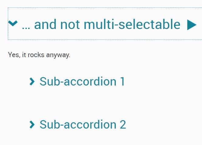 Basic Accessible Accordion Component In Vanilla JS - Van11y