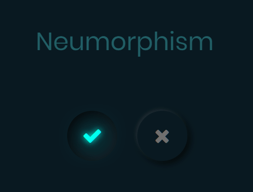 Neumorphic Style Radio Buttons In Pure CSS