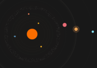 Animated Solar System In Pure CSS - solar.css