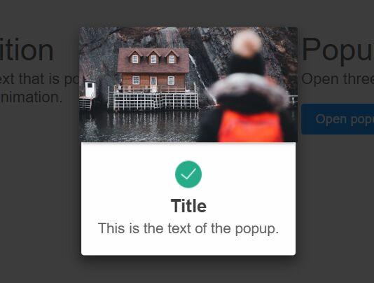 Simple Clean Popup Box In Vanilla JavaScript – Creativa
