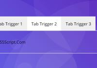 Minimal Tab Switcher In Vanilla JavaScript