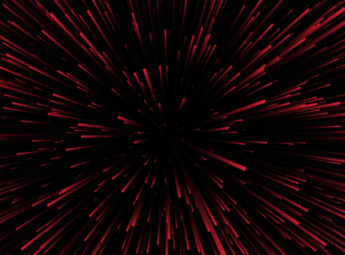 Animated Starfield Effect In Plain JavaScript