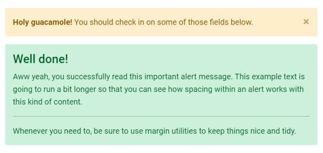 MDB 5 Alerts
