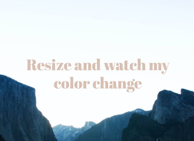Dynamically Change Font Color Based On Background – Contrast.js